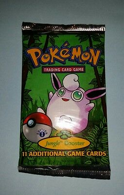 =] 1st Edition Pokemon Card Jungle Booster Pack NEW SEALED Old School Packs
