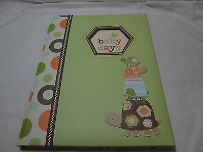 Carter's LAGUNA Baby Memory Book Record Milestones of Baby's First Year ~ Turtle