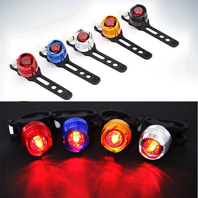 LED Bicycle Front Rear Plastic Light Bike Cycling Warning Safety Lamp in Night F