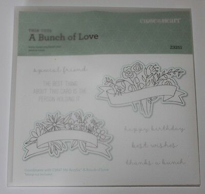 Close To My Heart A BUNCH OF LOVE Z3251 Use with matching stamp set