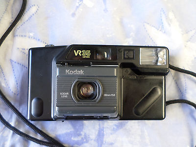 Vintage 1980's VR35  K4a Kodak Camera With Strap good working order 35mm