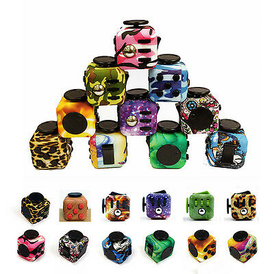 Great Fidget Cube Children Desk Toy Adults Stress Relief cubes toys Gift