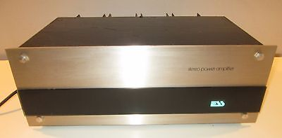 Ess 200 Power Amplifier Works Perfect