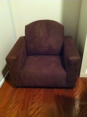 Kids Toddler Suede Lounge Chair Excellent Condition