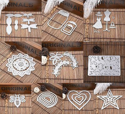 Metal Cutting Dies Stencil DIY Scrapbooking Embossing Album Paper Card Craft Hot