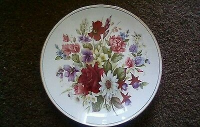 """Queens Fine Bone China Cabinet Plate""""Horchow Collection"""""""