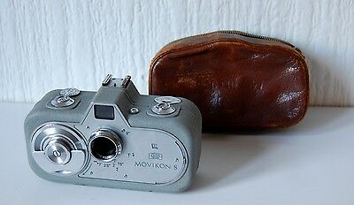 Vintage German Zeiss Ikon Movikon 8 With Case