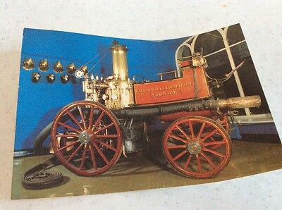 Shand  Mason  steam fire engine used at Colmans Carrow works until 1945