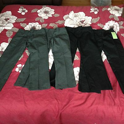 Four Pairs Of School Trousers 7-8