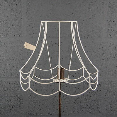 """12"""" Double Scollop Wire Lampshade Lamp Shade Frame"""