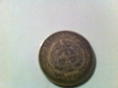 South Africa. 1895  2 1/2 Shillings..