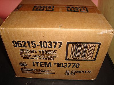 Star Trek Deep Space 9 1993 SKYBOX FACTORY SEALED CASE 24 Sets Premiere Edition
