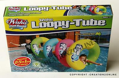 Wahu Pool Party Loopy Tube 2.5 X 1 M In Size Brand New Swimming Toy Inflatable