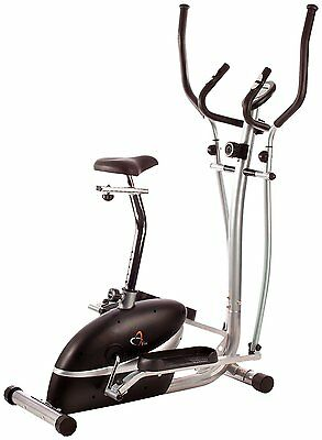 V-fit 2 in 1 cycle & cross trainer