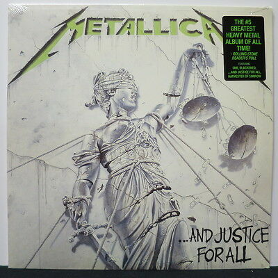 METALLICA '…and Justice For All' Vinyl 2LP NEW & SEALED