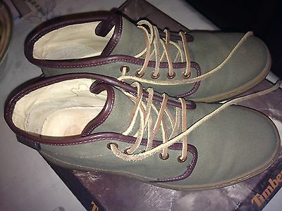 Mens New Timberland Boots Size 7.5 Green
