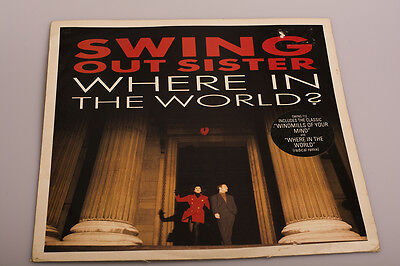 "12"" Vinyl Single Swing Out Sister ""Where in the World (Radical Mix)"""