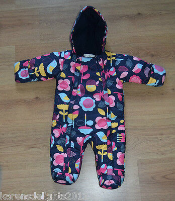 All-in-one coat snow suit age 3-6 mths M&S fast dispatch