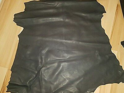 Leather Skin, Black, High Quality Leather -Grade AA,
