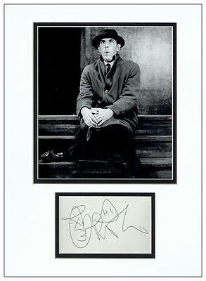 Peter Cook Autograph Signed Display  AFTAL  UACC RD