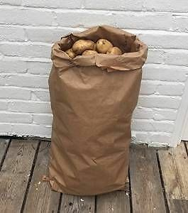 10 x 25 kg VEGETABLE potato sacks new