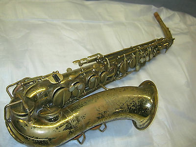 50's THE MARTIN INDIANA ALT / ALTO SAX / SAXOFON -- made in USA
