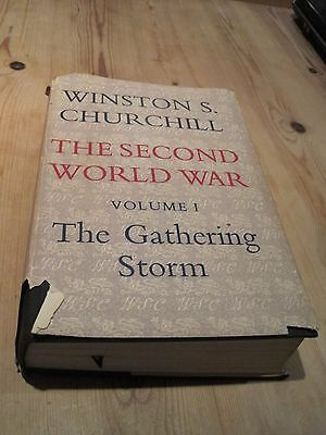 Winston Churchill The Second World War The gathering Storm Volume 1 - WW2