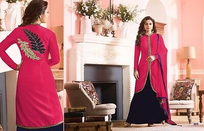 Indian Bollywood Ethnic Designer Anarkali Salwar Kameez Suit &Traditional BF0043