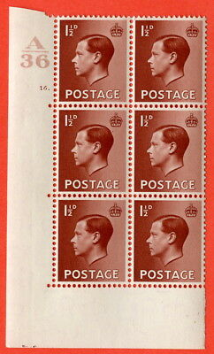 SG. 459. P3. 1½d Red-brown. A superb UNMOUNTED MINT. Control  A36 cylinder 16.