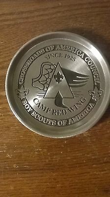 Boy Scouts of America Camp Red Wing Display Piece in Box