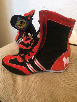 NEW MAR Boxing Boots Wrestling Shoes