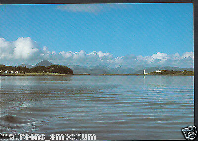 Scotland Postcard - The Skyline of Skye From The Kyle-Kyleakin Car Ferry   RR992