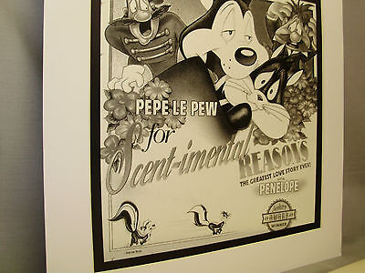 Pepe Le Pew in 1949 Scentimental Reasons Looney Tunes Classic Award Cartoon
