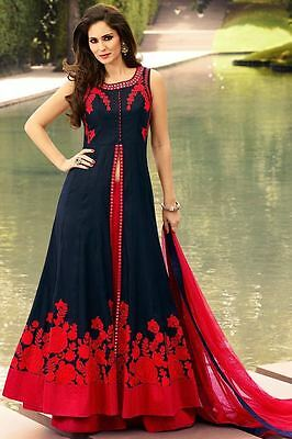 Indian Bollywood Ethnic Designer Anarkali Salwar Kameez Suit &Traditional BF0075