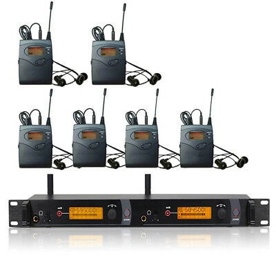 SR2050 IEM In Ear Monitor Wireless System, 2 Channel transmitter 6 bodypack