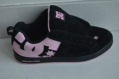 DC shoes skateboard  trainers UK 5 Black and pink
