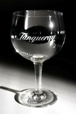 2 x (TWO) TANQUERAY GIN BALLOON GLASS