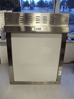 Used Carr 467T X-ray or Slide Still Picture Projector Light Box, in-wall install
