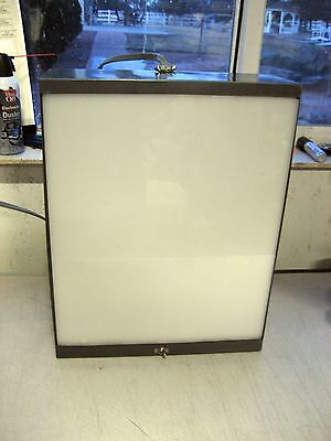 Used Novare X-ray or Slide Still Picture Projector Light Box, desk mount, w/warr