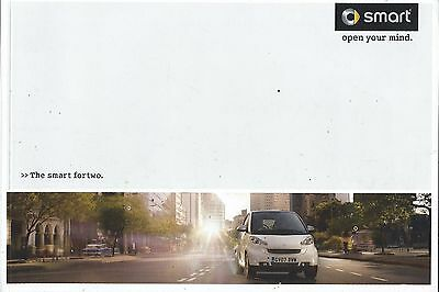 Smart Fortwo UK Market Brochure 2007 Includes Coupe Cabrio BRABUS 64 Pages