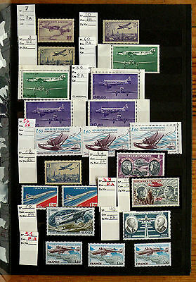 Album 206 Timbres Poste Aerienne De France Aviation Ttb
