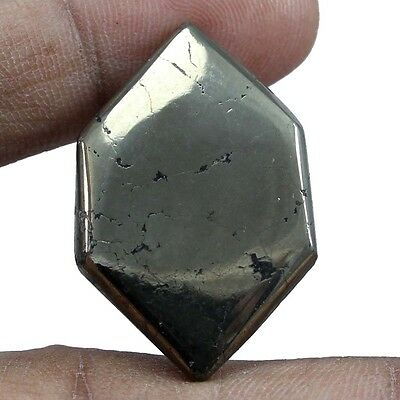 39.05 cts Natural Golden Pyrite Fancy Loose Cabochon Untreated Quality Gemstones