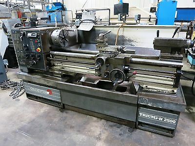 "15""x50"" Colchester Triumpf 2500 Precisiontoolroom Gap Bed  Engine Lathe"