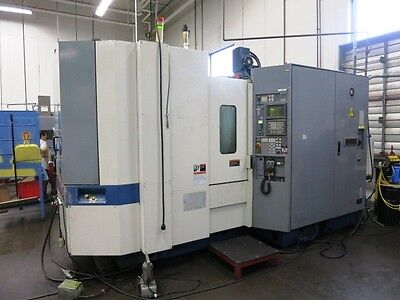 "20"" X 20"" Mori Seiki Sh500/40 4-Axis Cnc Horizontal Machining Center"