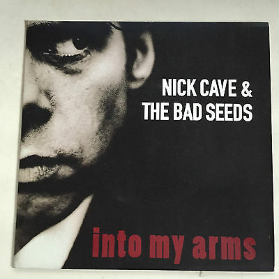 "NICK CAVE & THE BAD SEEDS Into my arms/Little empty boat 45 7"" M-  rare B side"
