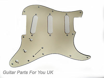Cream 3 ply SSS scratch plate pick guard for stratocaster strat ST NEW