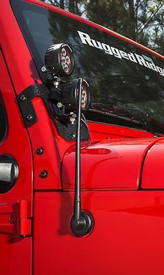 "Antenne kurz flexibel 13"" Stubby Reflex Antenna Rugged Ridge Jeep Wrangler JK"