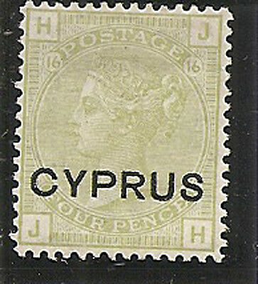 CYPRUS 1880  4d  SG4 mounted mint