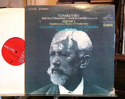 Tchaikovsky / Arensky - Suite No. 4 - Brusilow (RCA Red Seal) LP