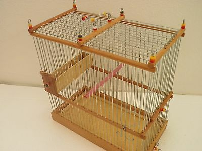 Amasing Wooden Bird Cage